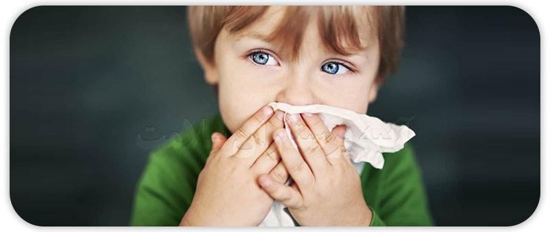 سینوزیت در کودکان و نوزادان آتیه