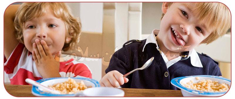 صبحانه نخوردن کودکان