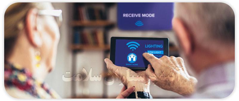 استفاده از تکنولوژی در بالا رفتن روحیه سالمندان