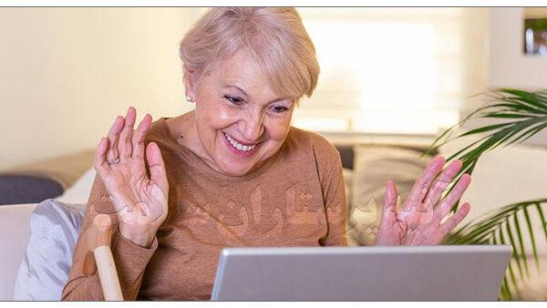 افزایش روحیه سالمندان آتیه