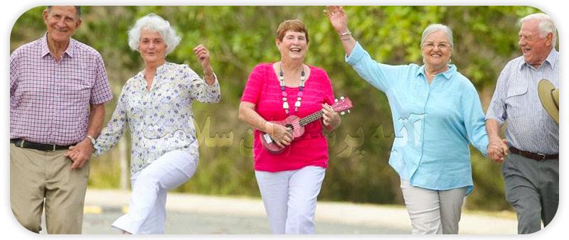افزایش روحیه سالمندان