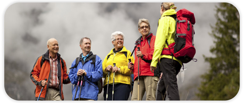 بالا بردن و افزایش روحیه سالمندان