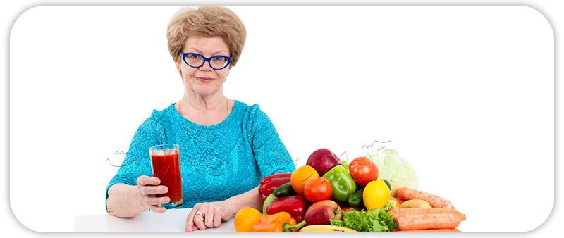 تغذیه سالمندان همراه با نکات پرستاری