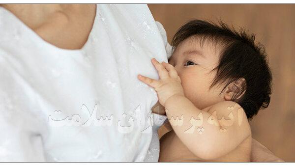 تغذیه نوزاد با شیر مادر آتیه پرستار