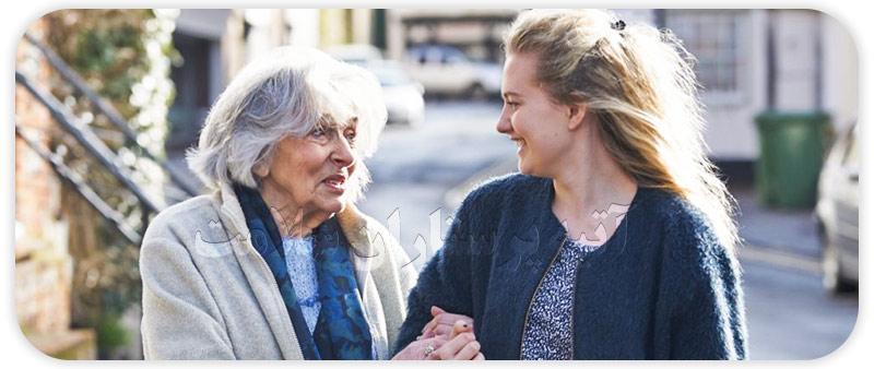 زندگی با والدین سالمند