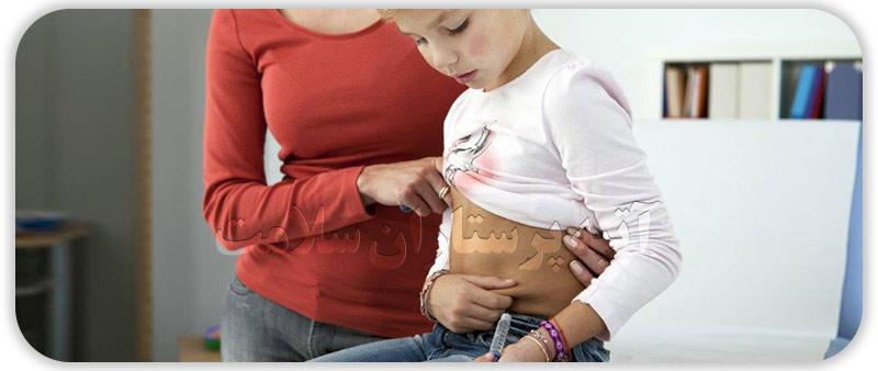 نگهداری و مراقبت از کودک دیابتی