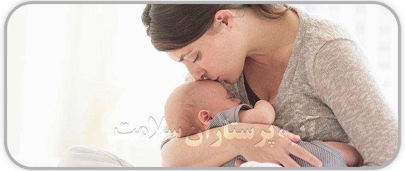 نقش شیر مادر در رشد کودک