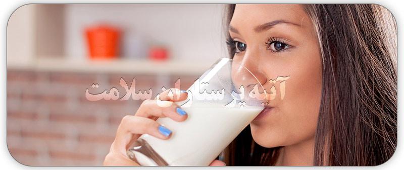 تاثیرات خوردن شیر قبل خواب را بدانید