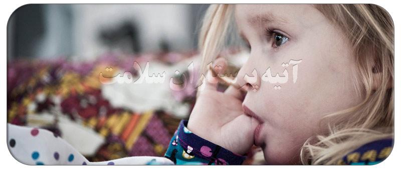 علت انگشت مکیدن کودکان
