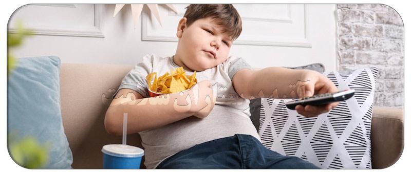 چگونگی کنترل بیماری چاقی در کودکان
