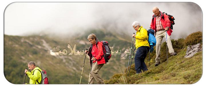 کوهنوردی برای سالمندان