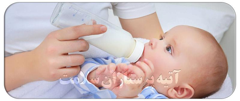 خراب شدن شیر مادر
