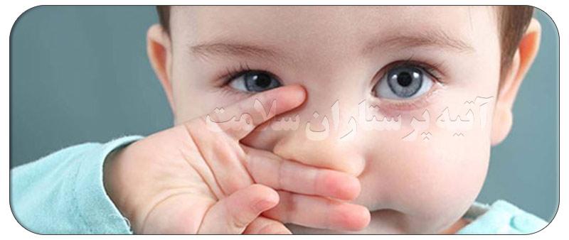 درمان آبریزش بینی سبز رنگ در کودکان در منزل