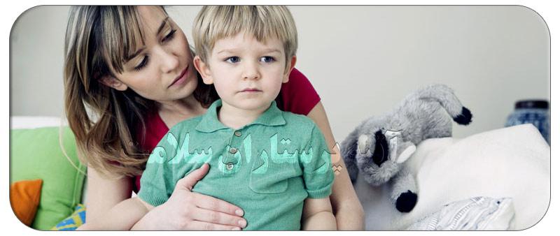 زخم معده در کودکان و روشهای درمانی در منزل