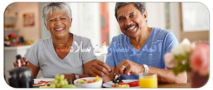 صبحانه مقوی برای سالمندان