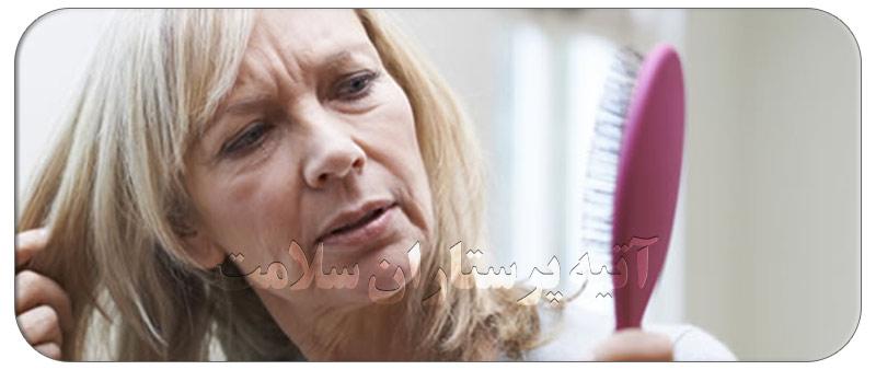 علت ریزش مو در سالمندان