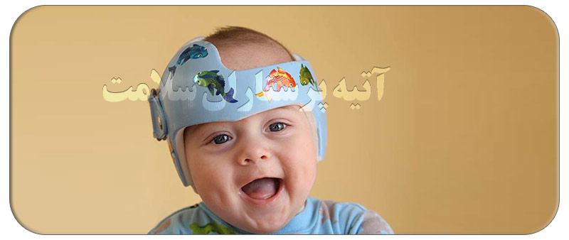به چه علت نوزاد سر خود را به جایی می کوبد