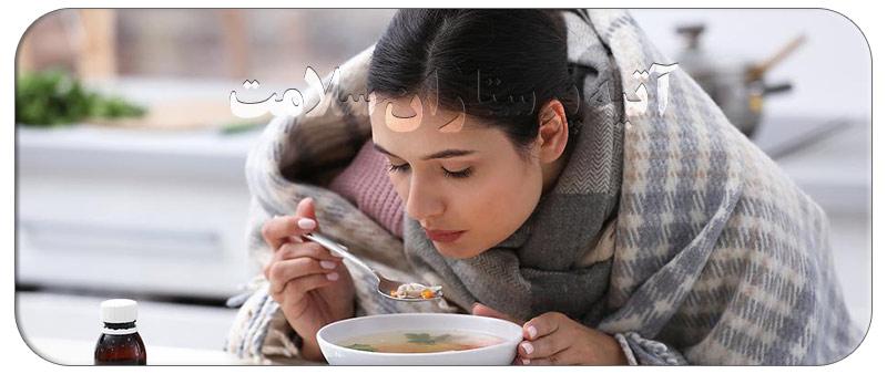 چرا سرماخوردگی در چشایی تاثیر می گذارد ؟