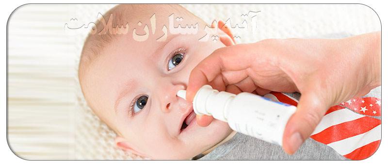 گرفتگی بینی نوزاد تازه متولد شده
