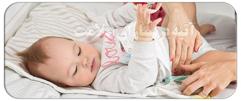 درمان خانگی مدفوع نکردن نوزاد