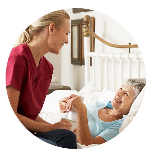 خدمات پزشکی و درمانی پرستاری بیمار در منزل