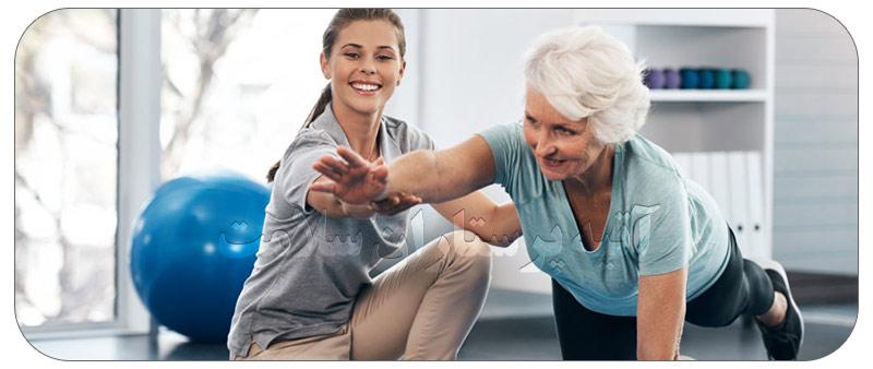 فواید حرکت درمانی سالمندان