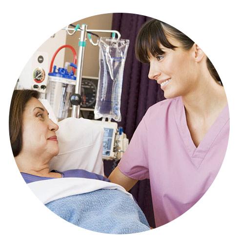 مراقب و پرستار بیمار در منزل آتیه سلامت