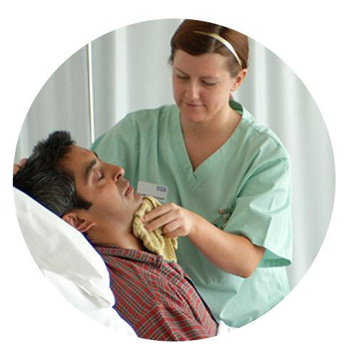پرستار بیمار متخصص آتیه سلامتان