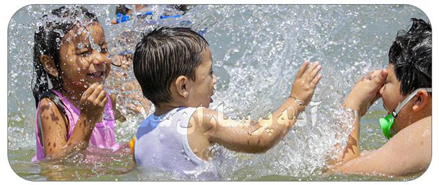 مراقبت از کودکان در تابستان