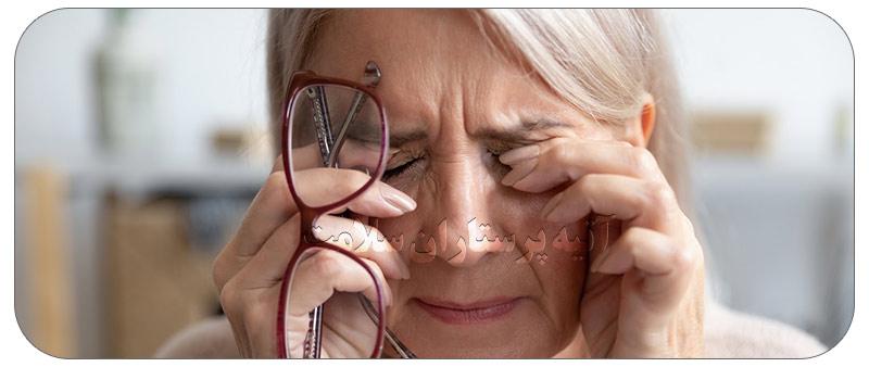 بهبودی ضعیفی چشم ها