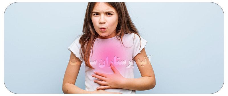 علائم سوء هاضمه در کودکان
