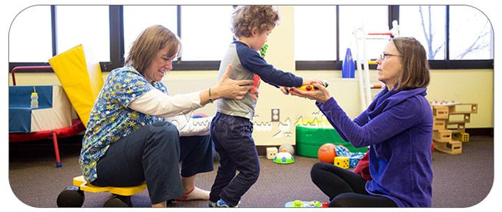 فواید حرکت درمانی کودکان