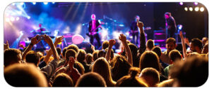 فواید رفتن به کنسرت