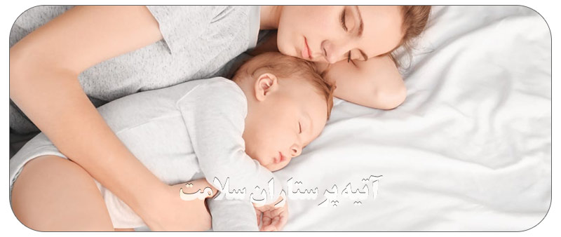 راه های خواباندن نوزاد
