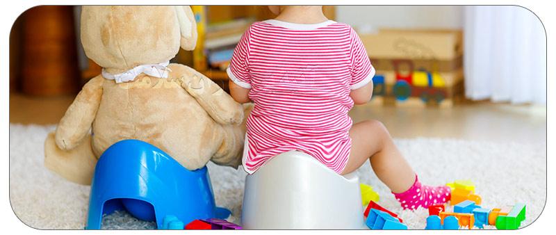 راه کارهای گرفتن کودک از پوشک