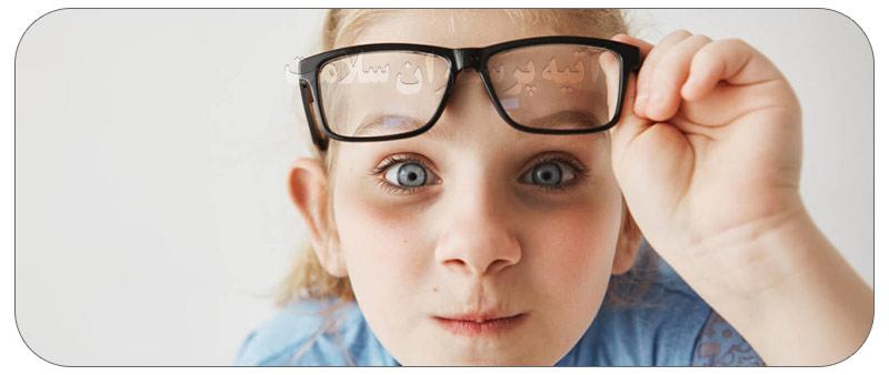 کبودی زیر چشمان کودکان